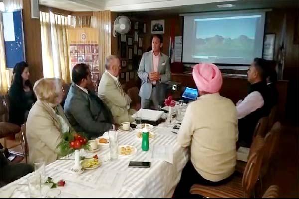 PunjabKesari, Delegation Meeting Image