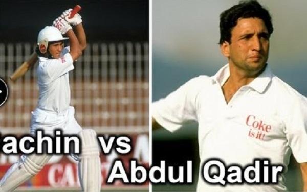 Abdul Qadir, Sachin tendulkar photo, sachin tendulkar images, sachin photos