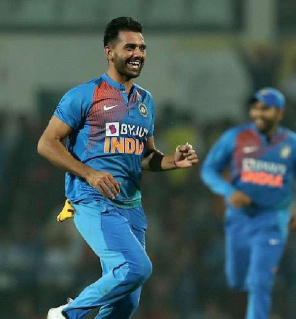 Deepak Chahar hit a hat-trick in Mushtaq Ali Trophy too