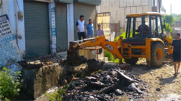 municipal corporation drive against illegal constructions