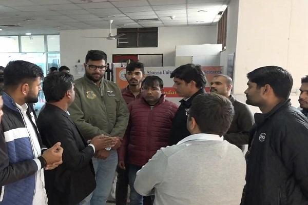 PunjabKesari,Digcijay choutala, INSO chie, attack