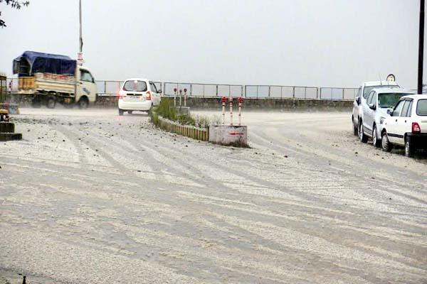 PunjabKesari, Hailstorm Image
