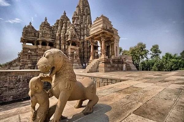 PunjabKesari,madhya pradesh,latest news, mp news, punjab kesari, khajuraho temple,unesco, खजुराहो के ऐतिहासिक मंदिर, खजुराहो मंदिर, खजुराहो के प्राचीन मंदिर