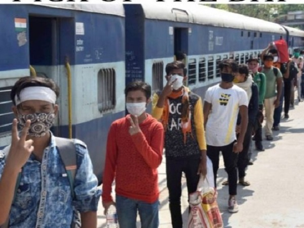 PunjabKesari, Madhya Pradesh, Ratlam, Shramik Express, Shramik, Alirajpur, Corona, Lockdown