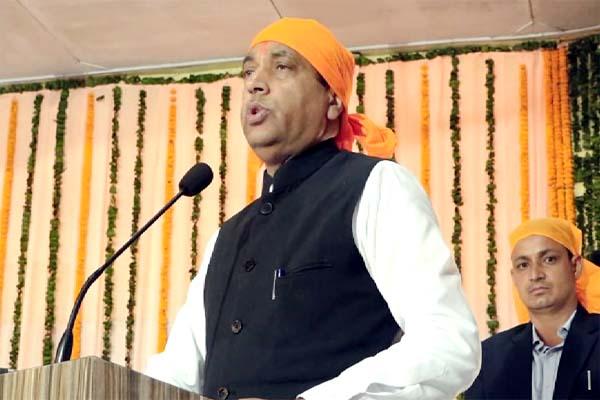 PunjabKesari, CM Jairam Thakur Image