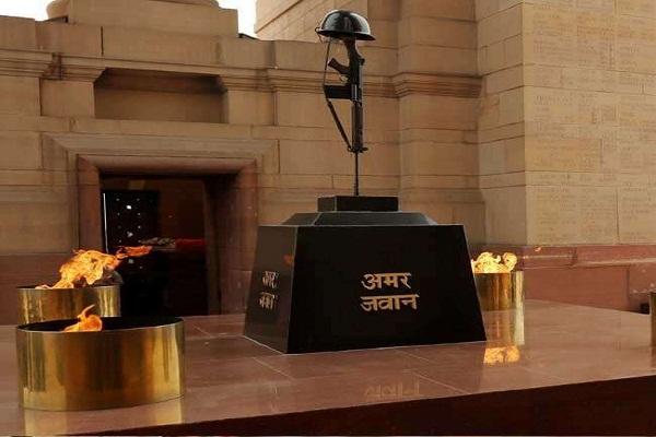 squadron leader ravi khanna named at national war memorial