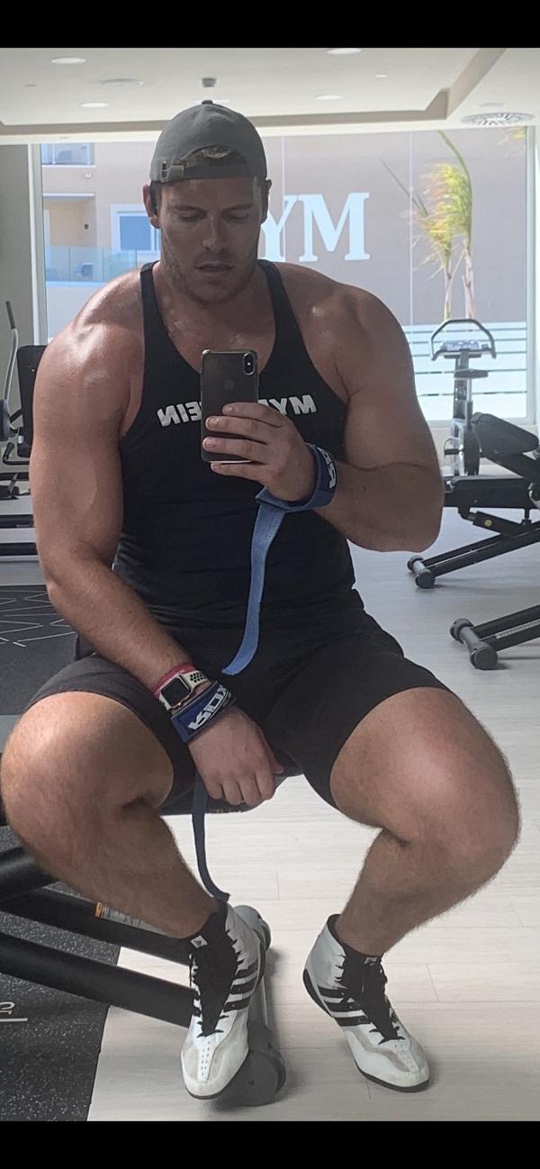 English Cricketer Chris Tremlett turns body builder now
