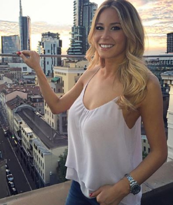 Football : Anchor Diletta Leotta was told by the crowd - take off clothes