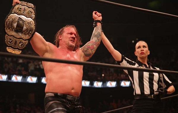 Chris Jericho reports AEW world title belt stolen