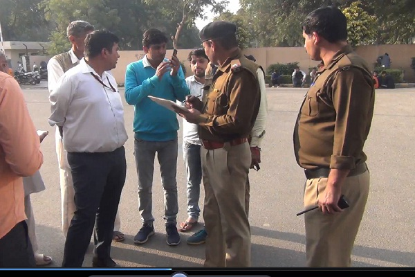PunjabKesari, haryana, rohtak, police