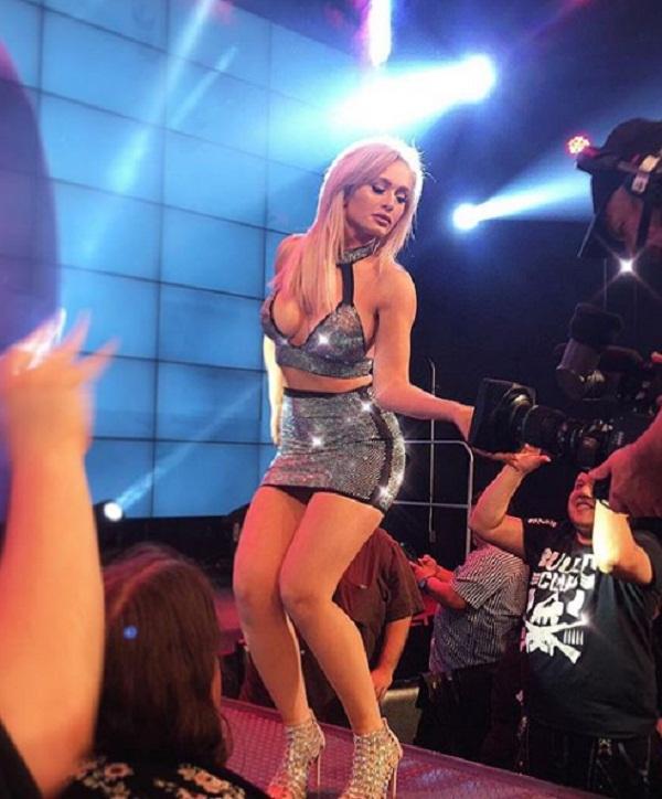 The most beautiful wrestler Scarlett Bordeaux can enter in WWE