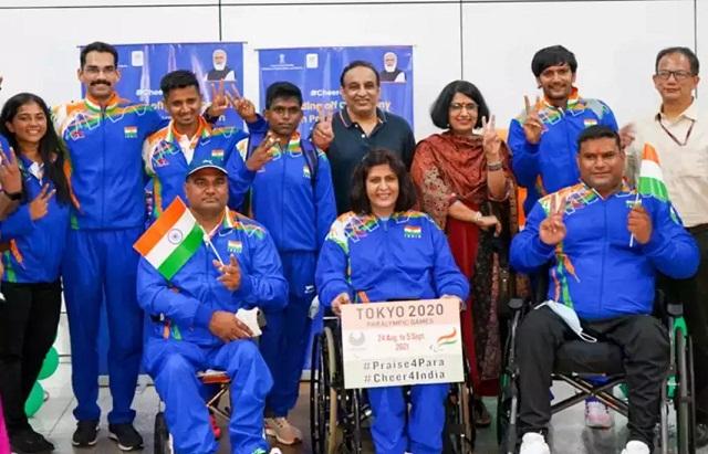 Hockey teams, Best Wishes, Paralympic team, Tokyo Paralympic, रानी, मनप्रीत सिंह, Rani Rampal, Manpreet singh