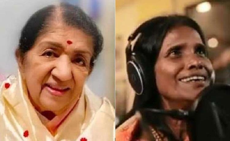 Bollywood Tadka, Lata Mangeshkar On ranu Mondal