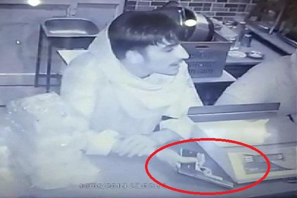 PunjabKesari, incident, CCTV