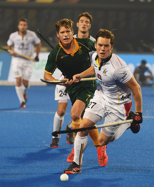 Hockey world cup : Belgium beat South Africa by 5-1