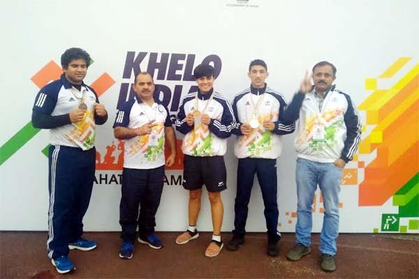 PunjabKesari, Boxing Team Image