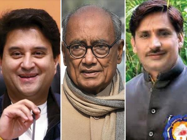 PunjabKesari, Madhya Pradesh, Bhopal, Rajya Sabha elections, BJP, Congress, Jyotiraditya Scindia, Shivraj Singh Chauhan