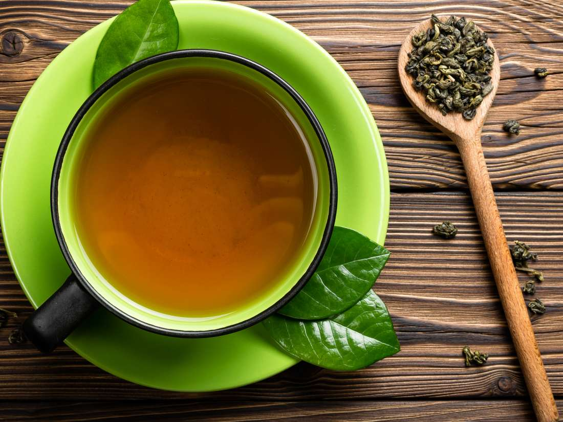 PunjabKesari, Nari, Green Tea Image