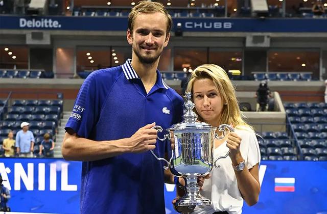 Daniil Medvedev, US Open, Wedding Anniversary, Tennis news in hindi, sports news, US open 2021, यूएस ओपन, दानिल मेदवेदेव