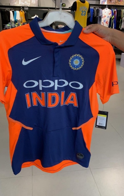 CWC 19 : Team india new Away jersey first photo come out