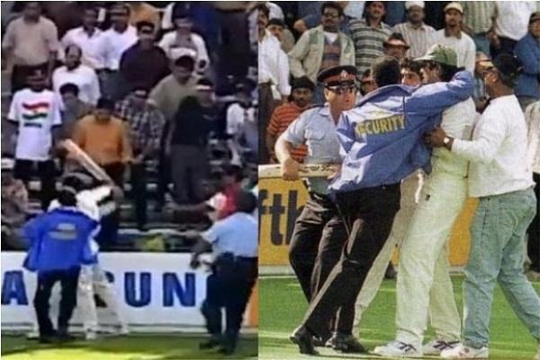 Vinod Kambli, Inzamam ul Haq, Sahara cup, cricket news in hindi, sports news, Inzamam ul Haq Raise bat, IND vs PAK
