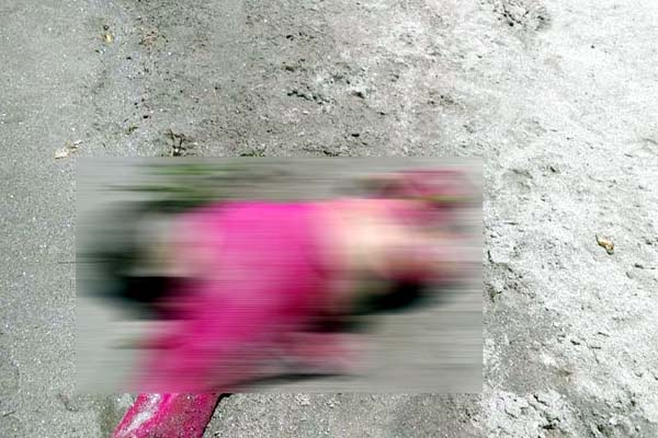 PunjabKesari, Baby Girl Deadbody Image