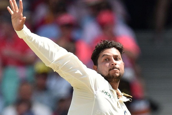 Kuldeep Yadav out of third Test due to shoulder pain