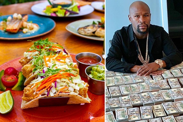 Mayweather tipping every cook £238 at Las Vegas seafood restaurant
