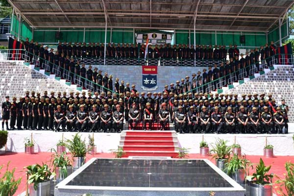 PunjabKesari, Swear Prade Ceremony Image
