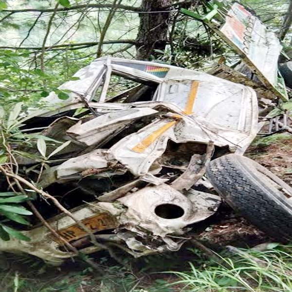 PunjabKesari, Jeep Accident Image