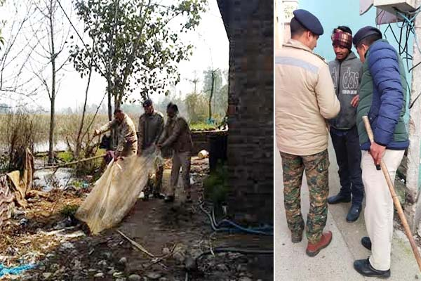 PunjabKesari, Police Raid Image