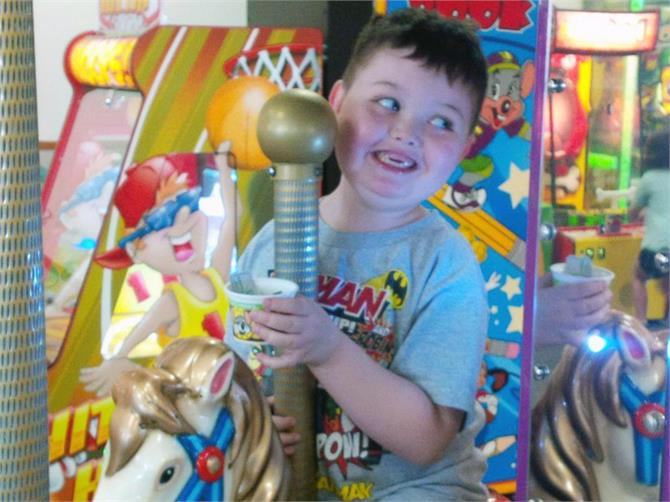 christmas in october for terminally ill boy