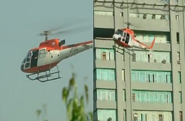 helicopter will monitor traffic in delhi bassi