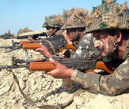 paramilitary forces will not ak 47