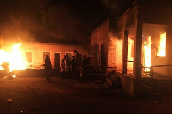 set fire to the shrine of ahmadis charged with blasphemy
