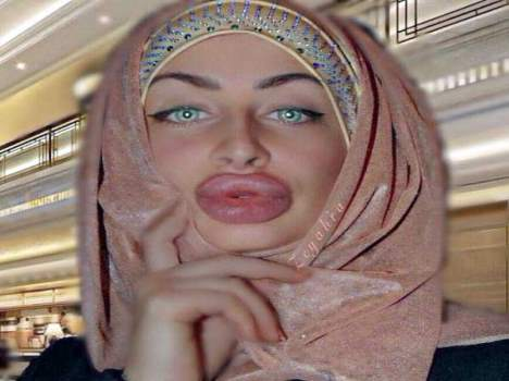 woman big lips are millions of fans