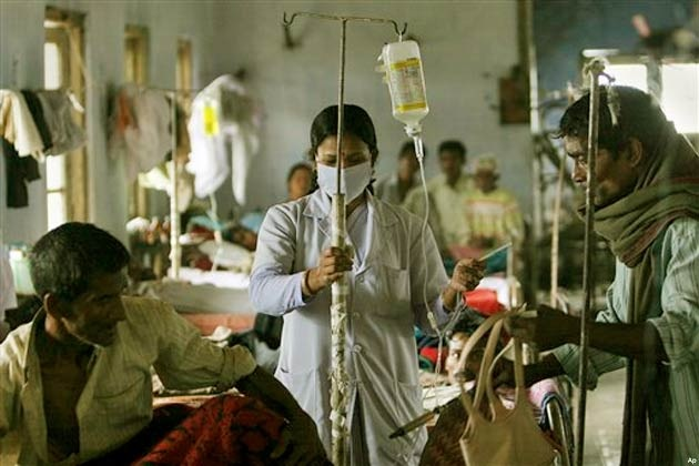 elevated levels of government hospitals the government raised
