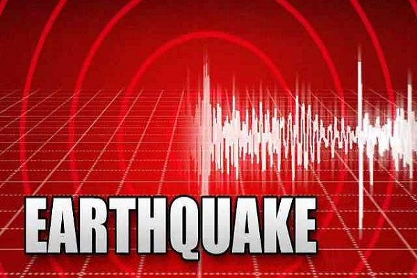 mild tremors in the country including the north