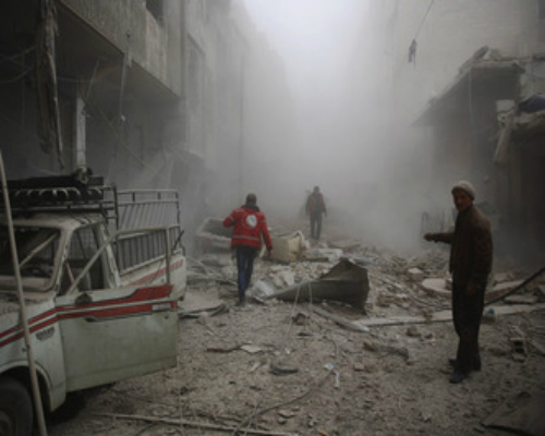 syrian rebels killed 45 civilians in the stronghold