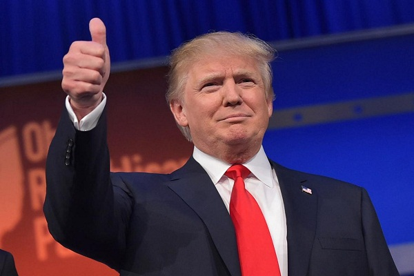 india is growing at a rate of eight percent  why not america  trump
