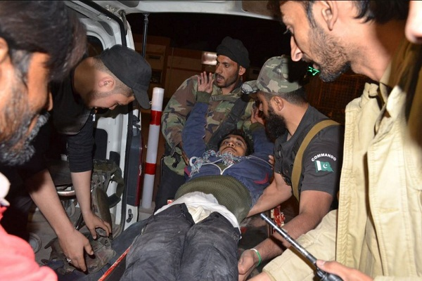 pakistan at least 57 killed over 116 injured in attack on police academy in quetta