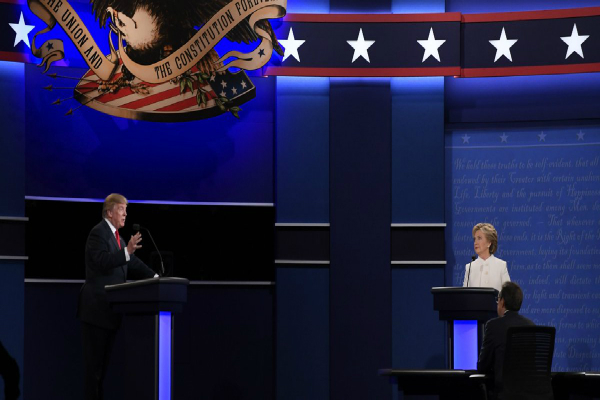 third and final debate between donald trump and hillary