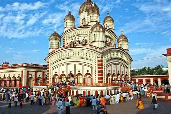 Image result for दक्षिणेश्वर काली मंदिर
