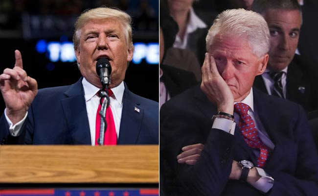 bill clinton was a predator worst abuser of women donald trump