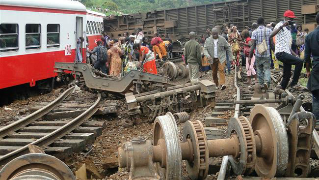 cameroon train derailment kills many