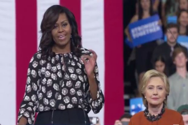 clinton absolutely ready to be commander in chief  michelle