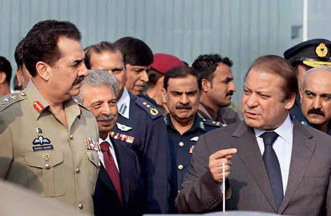 nawaz sharifs days are numbered military boys set timer device on elected government