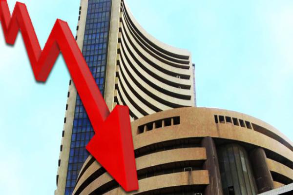 sensex opened lower tata group shares fell