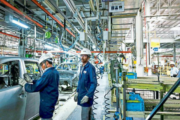 industrial growth worst in a decade