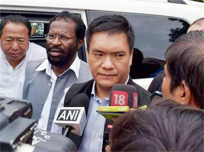bjp decided to join pema khandu government